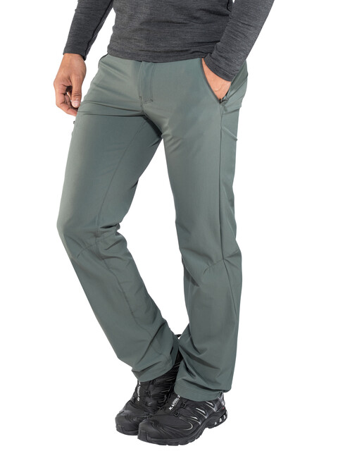 Salomon Wayfarer Spodnie długie Mężczyźni Regular oliwkowy